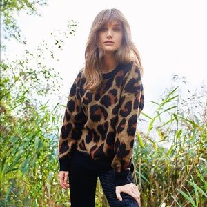 Band of Gypsies Leopard Sweater